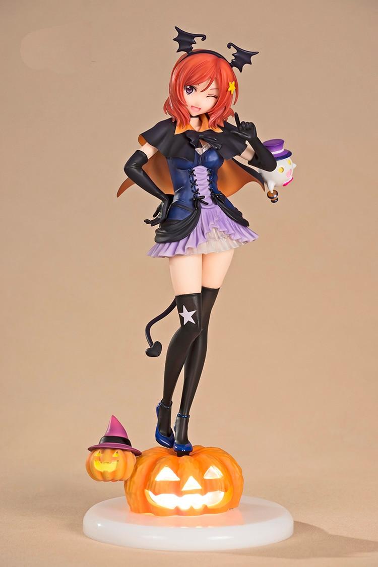 Love Live! School Idol Project Nishikino Maki Halloween Ver. PVC Figure Collectible Model Toy 24cm P571<br>