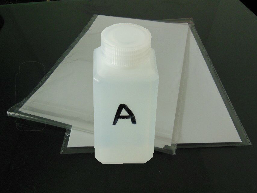 100ml Hydrographic Activator A +10pcs A4 size hydrographic film For Blank Water Transfer Printing Film For Water Printing<br>