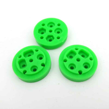 10pcs Disc wheel / eccentric / TT motor eccentric / porous model assembly /DIY toy accessories/technology model parts