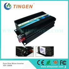 Off Grid 300w DC12V/24V, AC110V/220V, Pure Sine Wave Solar Inverter or Wind Inverter, Surge 600w,50Hz/60Hz , Single Phase
