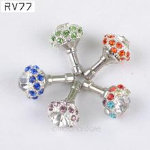 Crystal Rhinestone Bird Nest Crown Anti Dust Plug 3.5mm Jack Earphone Dust Plug for iPhone Smart Phone Accessories(China)