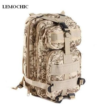 LEMOCHIC Outdoor products 3p camping sports male Camouflage women travel bag hiking attack packets military tactical backpack<br><br>Aliexpress