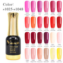 #60751 CANNI Nail Gel Polish High Quality Nail Art Salon Tips 120 Colors 12ml VENALISA Soak off Organic UV LED Nail Gel Varnish(China)