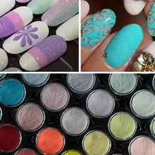1pc Holographic Colorful Shining Nail Glitter Powder Ultra-thin Sugar Nail Dust Manicure Decor Nail Art Glitter Powder LATY06-33