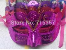 Fashion 6 Color new mask party mask wedding props masquerade mardi gras mask 60pcs/lot  AF196-2