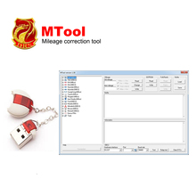 Mileage Programmer MTool  Use to Adjust the Mileage Change of Cars ODB M-BUS Car Mileage Correction Tool of run for Hyundai Ford