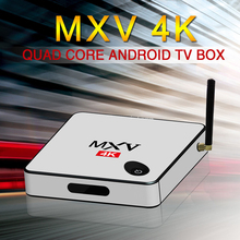 MXV 4K 3D Android 5.1 Amlogic S905 1GB/8GB 1000M Lan Wifi Mini Smart TV Box DLAN