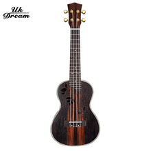 Mini Wood Guitar 23 inch Classical Instruments Spruce Okoume Rotary Closure ukulele 18 Frets Active Guitars guitarra UC-D95