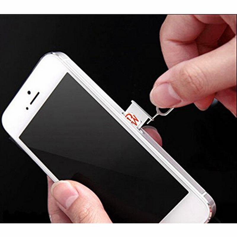 NYFundas Sim Card Tray Open Eject Pin For Apple iPhone X 8 Plus Xiaomi Redmi note 4x mi6 mi a1 mix 2 Smartphone Tool Accessories (2)