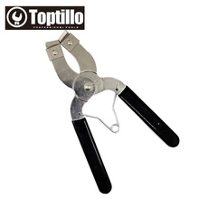 TOPTILLO Auto Vehicle Car Repairs Tools Adjuestable Piston Ring Installer Remover Pliers Tools Compressor Ratchet Style 53-150MM