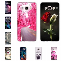 For Samsung Galaxy J5 2016 Cases 3D Relief Printing Case for Samsung Galaxy J5 Case J510 J510F SM-J510F Phone Cover Silicon Bag(China)