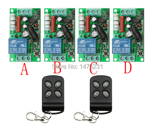 New AC 220V 10A RF 1ch rf wireless light remote control switch 220v wireless intelligent home<br>