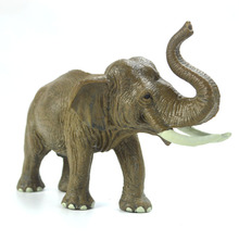 Elephant Model Solid wild Animal toy Jungle Forest Animal Kingdom Elephant Model Classic Action Figures Toy