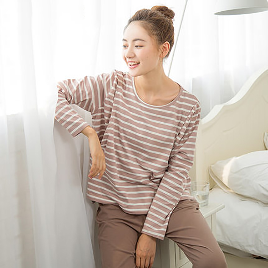 Autumn Winter Maternity Nursing Clothes For Pregnant Nightie Women Shirt Feeding Warm Cotton Pregnant Clothes Big Size 70M0119<br>