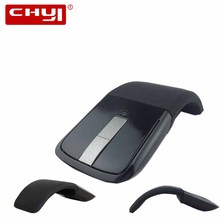 Foldable 2.4GHz Wireless Mouse Folding Arc Touch Mouse Mause Computer Gaming Mouse Mice for Microsoft Surface PC Laptop Desktop