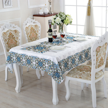 European Style Rectangle Table Cloth Acceptable Custom Creative  Tablecloths High Quality Table Cleaning Materials ZD-3