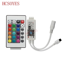 16 Million RGB/ RGBW IR led controller colors Wifismartphone control music and timer mode magic home wifi led controller(China)