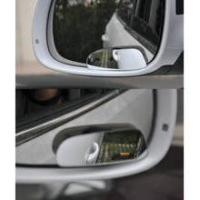 DEDC Car Vehicle Blind Spot Dead Zone Mirror Rear View Mirror Small Round Mirror Auto Side 360 Wide Angle Round Convex Mirror(China)