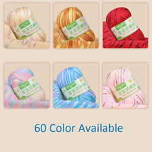 100g/bag/2pcs Knitting Thick Yarn knitting Cotton/Silk Thick Yarn For Baby Hat Scarf Sweater Children Warm Clothes Hand Knitting