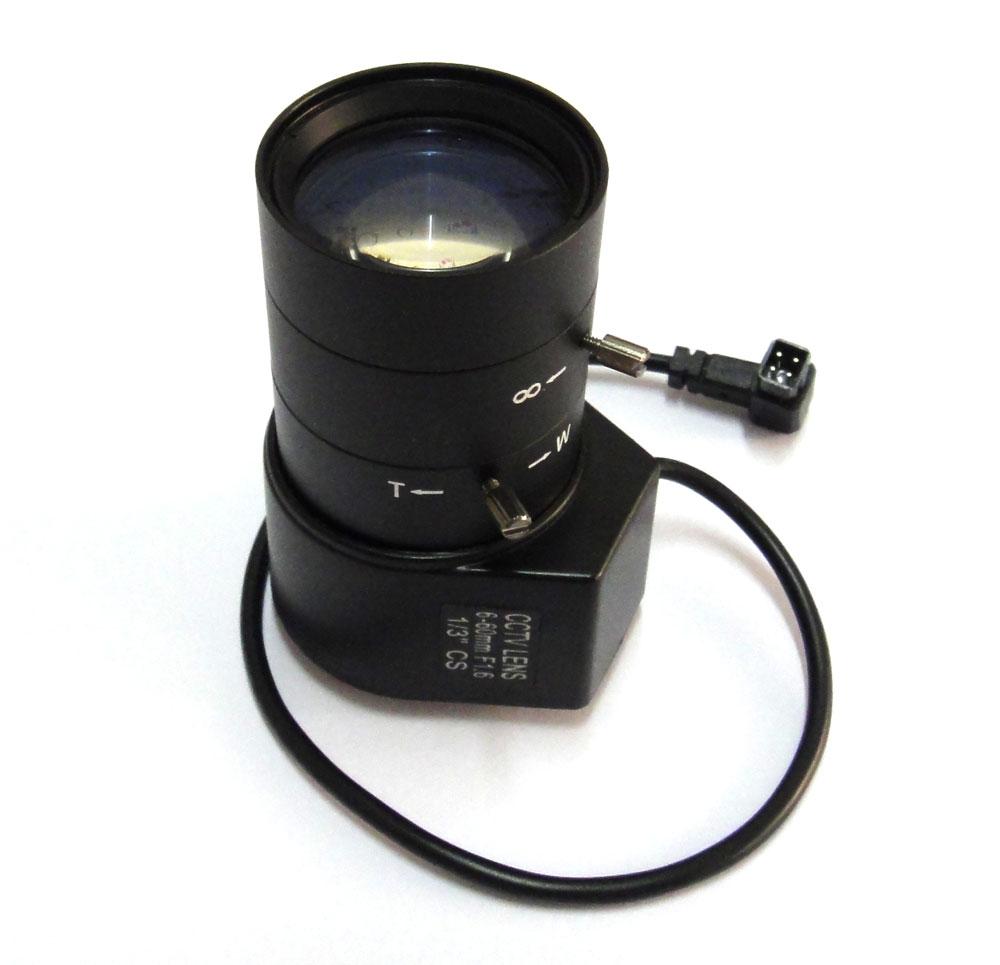 1/3 CS IR 6-60mm CCTV Lens Aperture Vari-Focal Auto Iris for Security camera<br>
