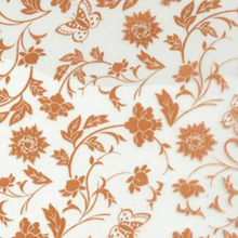 CSHD50-1 1mX50m water transfer printing film orange flowers pattern hydro transfer printing