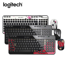 Logitech MK365 2.4G Wireless Keyboard and Mouse Combo Gaming Laptop PC Gamer Ergonomics Unifying Receiver Keyboard Mouse Set(China)