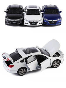Toy-Model Decoration-Toy Diecast Metal-Material Honda Accord 1:32 Children's Car