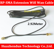 High Quality   Antenna RP-SMA Extension Wifi Wan Cable For Wi-Fi Router SMA Coaxial Adapter Connector