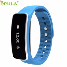 New Bluetooth 4.0 Bracelet Sports Tracking Wristband Call Message Reminding Smart Watch Wholesale price LJJ0223