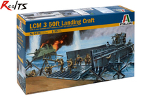 RealTS Italeri Model Kit - LCM 3 50ft Landing Craft With d- 1:35 Scale - 6436(China)