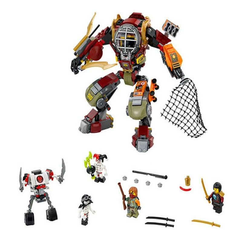 LEPIN 06035 478Pcs Salvage M.E.C.Ronin Krazi Frakjaw Model Building Kits  Block Brick Toys For Children Gifts <br><br>Aliexpress