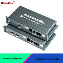 Mirabox HSV900 HDMI Extender Over Power Line Telephone Line Apply To Home Classroom Meetingroom Office Via Powerline Telephone