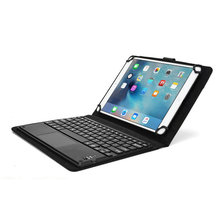 Touchpad Executive Wireless Bluetooth Keyboard Detachable For Huawei MediaPad M2 10.0  QWERTY  Carrying Case Tablet Cover Stand