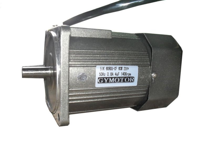AC 220V 60W Single phase regulated speed motor without gearbox. AC high speed motor,<br>