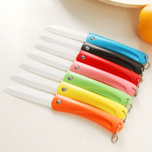Folding Ceramic Utility Knife Letter Opener Stationery Cutter For Fruit Vegetable Sushi Ceramica Knives Tools Household