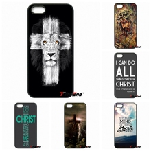 For Xiaomi Redmi Note 2 3 3S 4 Pro Mi4 Mi4C Mi5S Mi MAX iPod Touch 4 5 6 Bible Philippians Jesus Christ Christian Cross case