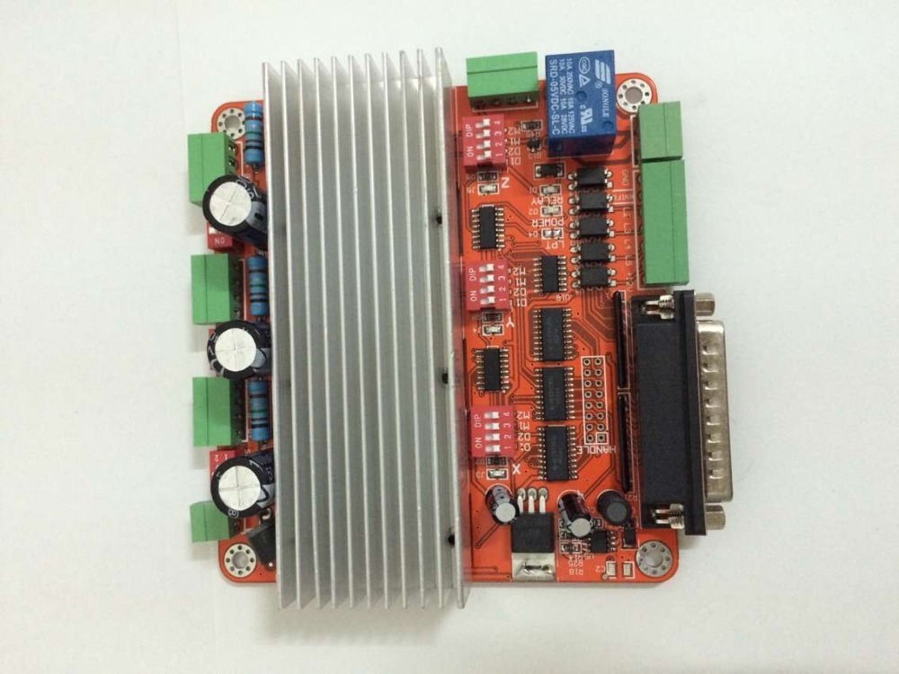 3 axis TB6560 3.5A CNC engraving machine stepper motor driver board 16 segments stepper motor controller<br>