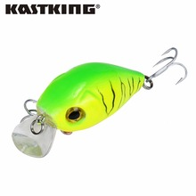 KastKing 8pcs/lot Retail A+ fishing lures, assorted colors, minnow crank 50mm 7.2g,magnet system hard fishing lure crankbait(China)