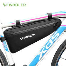 2017 NEWBOLER Rainproof Bicycle Triangle Bag Large Size Bike Frame Front Tube Bag Cycling Bag Pannier Packing Pouch No Lip