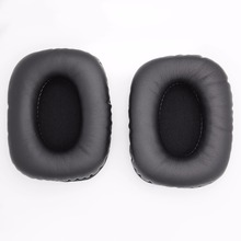 Black Ear Pads Cushion Replacement Earpads for Creative Sound Blaster Tactic 3D Rage USB Headphones(China)