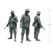 Tobyfancy 1/35 WW2 German Lance Force Assault Gunmen Military Soldier Resin Model Figure UU-10