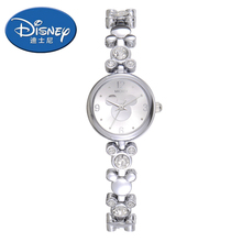Disney Kids Watch Fashion Cool Cute Quartz Wristwatches women watch Waterproof Mickey Mouse luxury women watches()