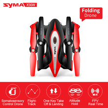 Foldable Helicopter Syma X56W Drone Camera RC Quadcopter 4CH 2.4G Aircraft RC Drone Remote Control Toys (X56 Without Camera)