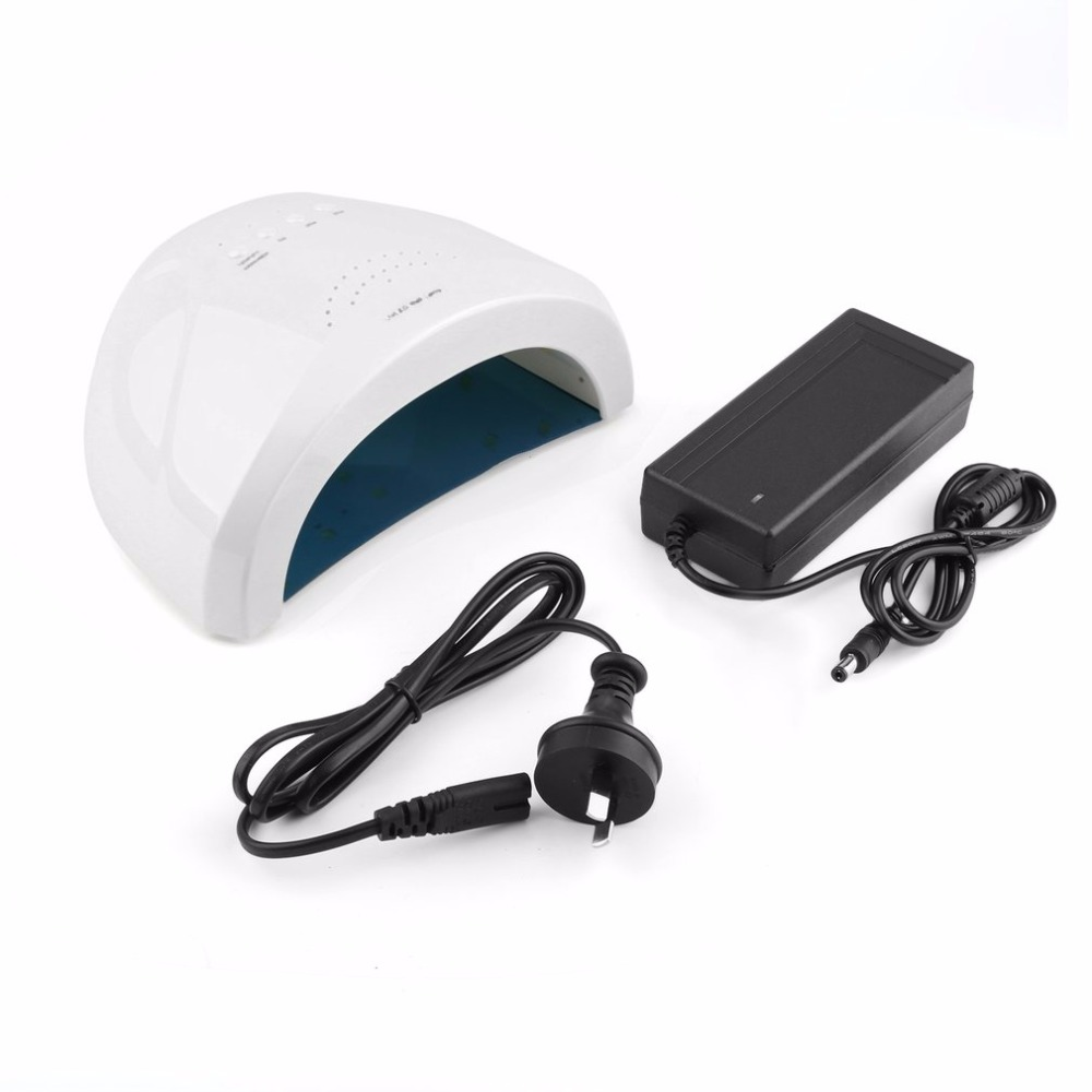 2 in 1 UV LED Nail Lamp 48W 365nm+405nm Nail Gel Curing Lamp Light Makeup Cosmetic Nail Gel Polish Dryer Nail Art Machine New<br>