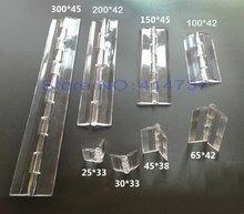 25*33mm/30*34mm/45*38mm/65*42mm  Acrylic Hinge Transparent Hinge Plexiglass Hinge organic glass hinge furniture accessory