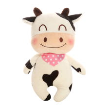 Cow Stuffed Doll Soft Toy Plush Animals Cute Pink Rabbit Toys Oyuncak Bebek Bear Brown Pelucia Animais Toys For Children 50G0423(China)