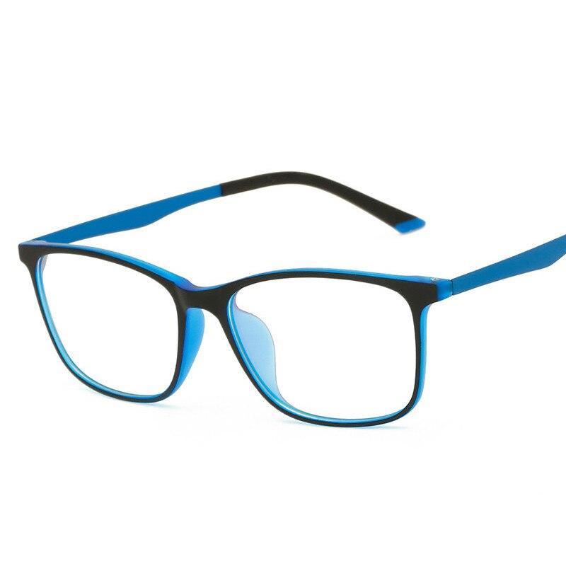 71aab0daec Ultra Light TR90 Computer Glasses Frame Eyeglass Men Women Optical Frames  Degree Myopia ...