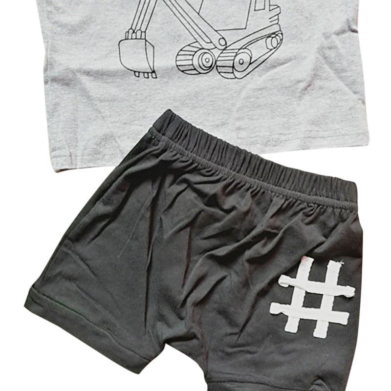 Toddler Boys Ya Dig T Shirt & Shorts Set 19