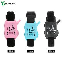 Golf Score Stroke Keeper Count Watch Putt Counter Shot with Wristband Accessories Blue/Black/Pink(China)