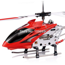 Free shipping Original Syma S107G S107 3.5CH outdoor Mini Copter RC drone Helicopter Radio Remote control toys With Gyro flying(China)